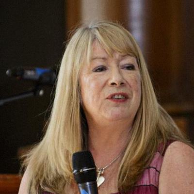 Portrait of board member, Audrey