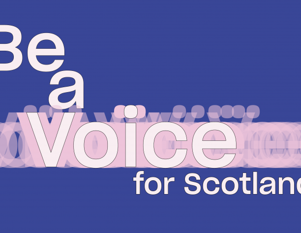 be a voice banner