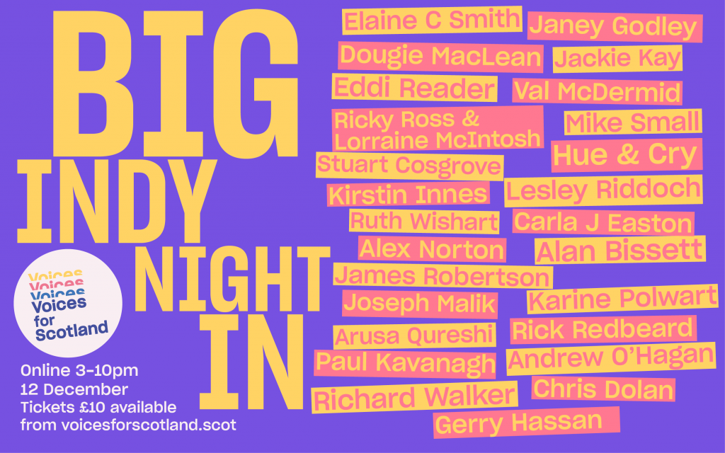 Poster for the Big Indy Night In